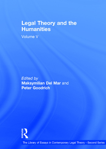 Legal Theory and the Humanities Volume V book cover