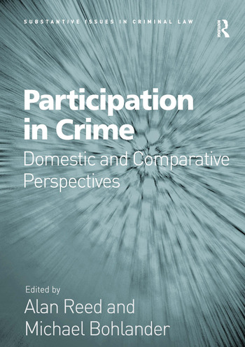Participation in Crime Domestic and Comparative Perspectives book cover
