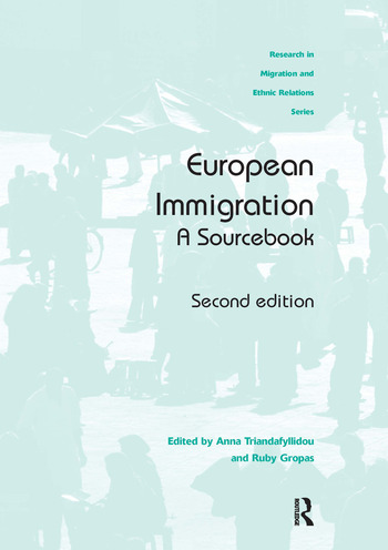 European Immigration A Sourcebook book cover