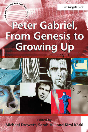 Peter Gabriel, From Genesis to Growing Up book cover