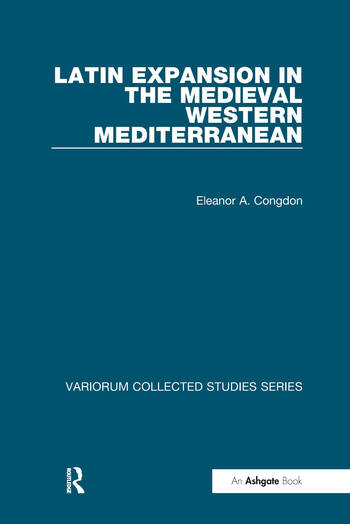 Latin Expansion in the Medieval Western Mediterranean book cover