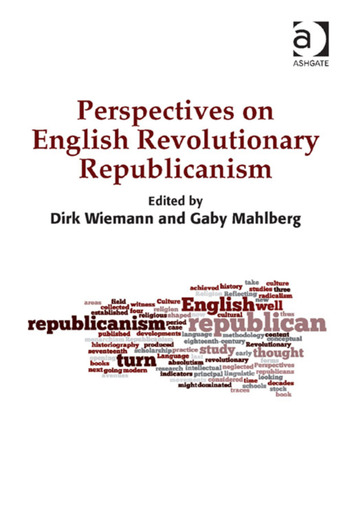 Perspectives on English Revolutionary Republicanism book cover