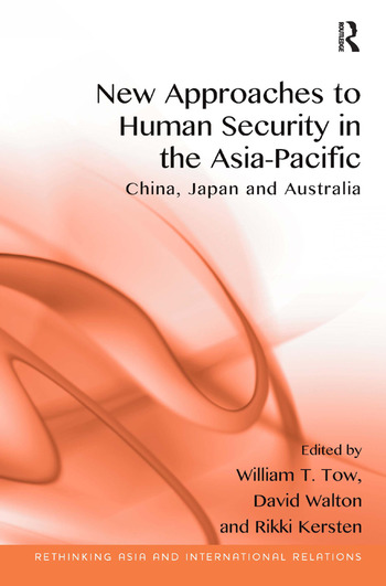 New Approaches to Human Security in the Asia-Pacific China, Japan and Australia book cover