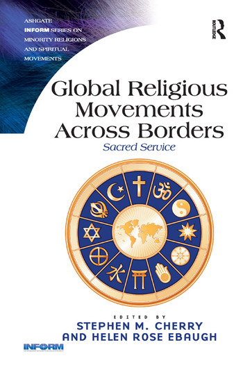 Global Religious Movements Across Borders Sacred Service book cover