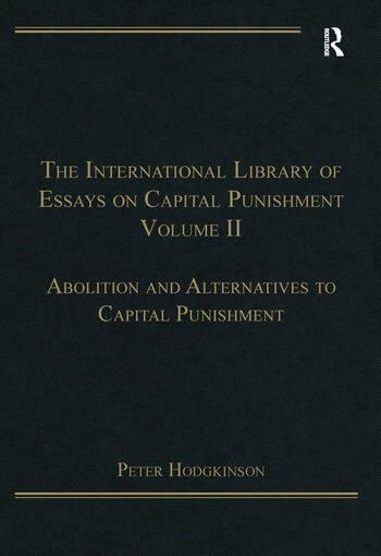 essay on capital punishment should be abolished