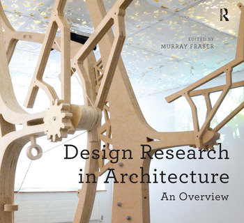 Design Research in Architecture An Overview book cover
