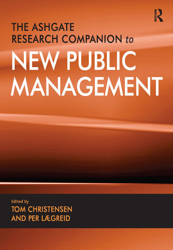 The Ashgate Research Companion to New Public Management book cover