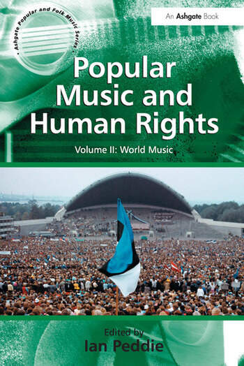 Popular Music and Human Rights Volume II: World Music book cover