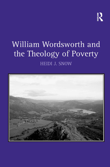 William Wordsworth and the Theology of Poverty book cover