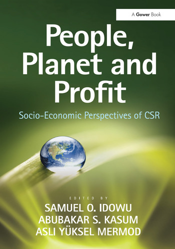 People, Planet and Profit Socio-Economic Perspectives of CSR book cover