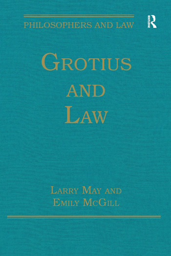 Grotius and Law book cover