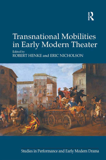 Transnational Mobilities in Early Modern Theater book cover