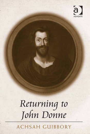 Returning to John Donne book cover
