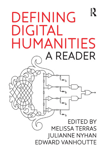 Defining Digital Humanities A Reader book cover