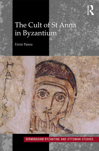 The Cult of St Anna in Byzantium book cover