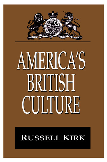 America's British Culture book cover
