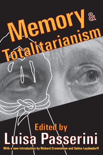 Memory and Totalitarianism book cover