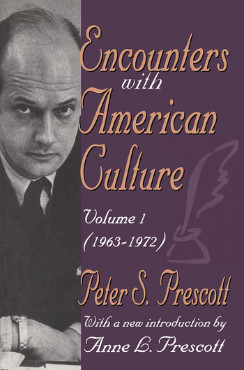 Encounters with American Culture Volume 1, 1963-1972 book cover