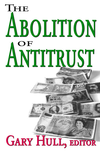 Abolition of Antitrust book cover