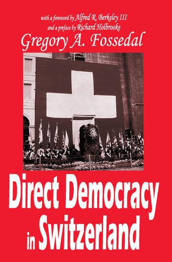 Direct Democracy in Switzerland book cover