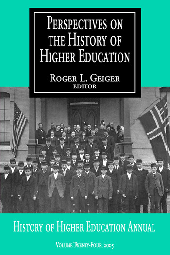 Perspectives on the History of Higher Education Volume 24, 2005 book cover