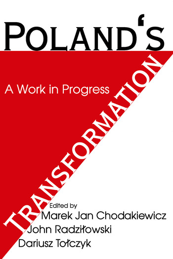 Poland's Transformation A Work in Progress book cover