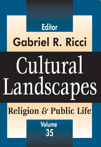 Cultural Landscapes Religion and Public Life book cover