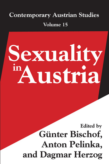 Sexuality in Austria Volume 15 book cover