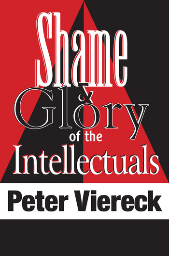 Shame and Glory of the Intellectuals book cover