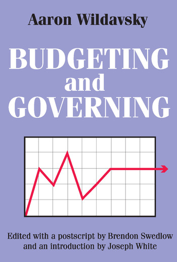 Budgeting and Governing book cover