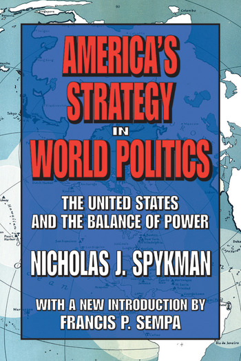 America's Strategy in World Politics The United States and the Balance of Power book cover
