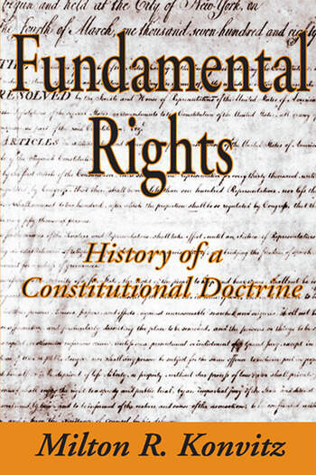 Fundamental Rights History of a Constitutional Doctrine book cover
