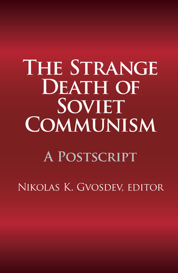 The Strange Death of Soviet Communism A Postscript book cover