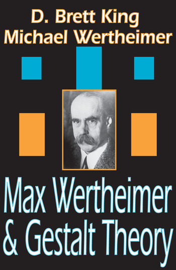 Max Wertheimer and Gestalt Theory book cover