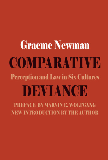 Comparative Deviance Perception and Law in Six Cultures book cover