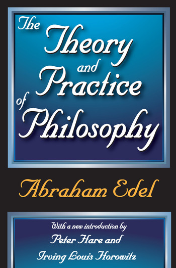The Theory and Practice of Philosophy book cover