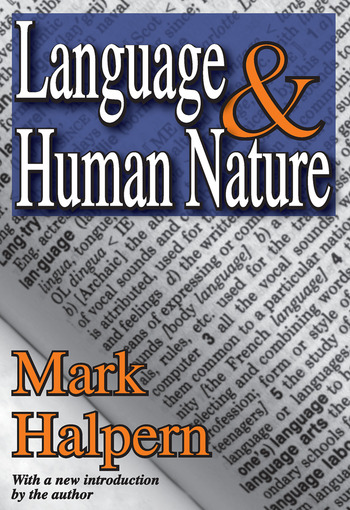 Language and Human Nature book cover