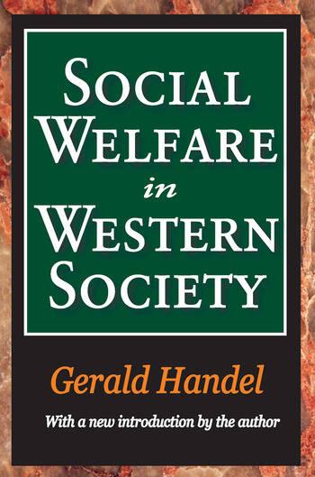 Social Welfare in Western Society book cover