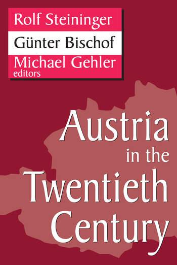 Austria in the Twentieth Century book cover