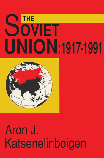 The Soviet Union 1917-1991 book cover
