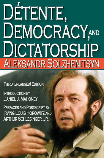 Detente, Democracy and Dictatorship book cover