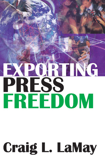 Exporting Press Freedom book cover