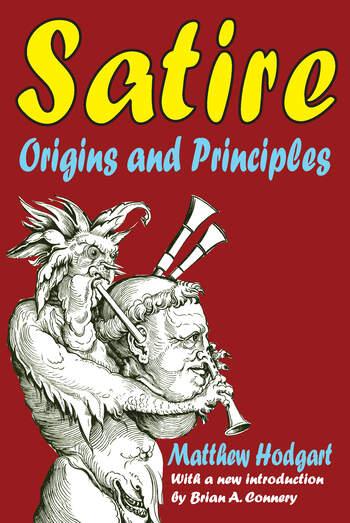 Satire Origins and Principles book cover