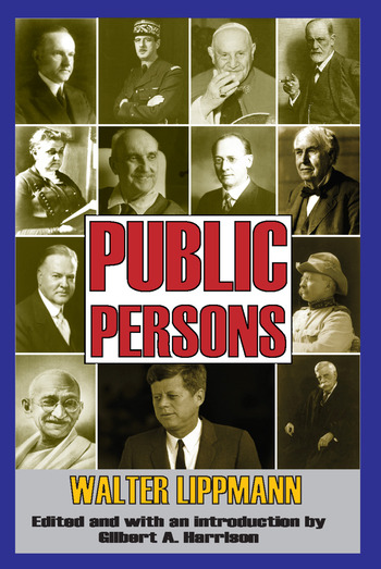 Public Persons book cover