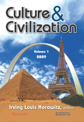 Culture and Civilization Volume 1, 2009 book cover