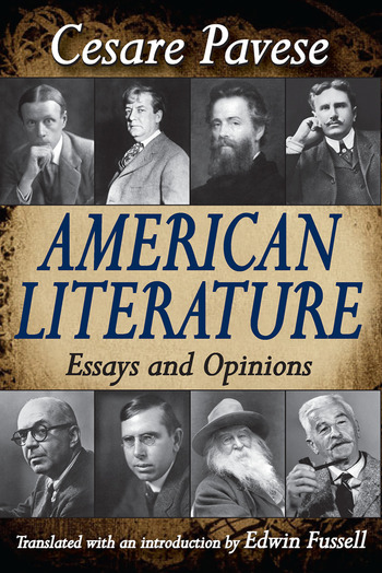 American Literature Essays and Opinions book cover