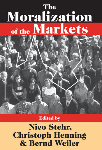 The Moralization of the Markets book cover