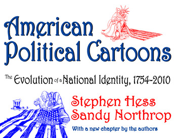 American Political Cartoons From 1754 to 2010 book cover