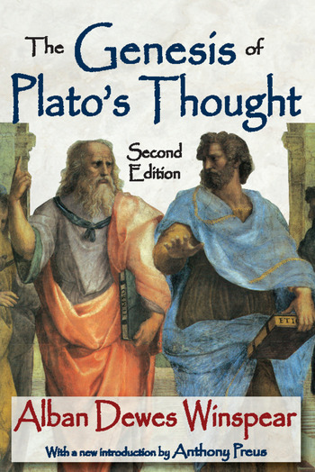 The Genesis of Plato's Thought Second Edition book cover