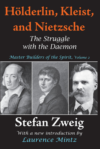 Holderlin, Kleist, and Nietzsche The Struggle with the Daemon book cover